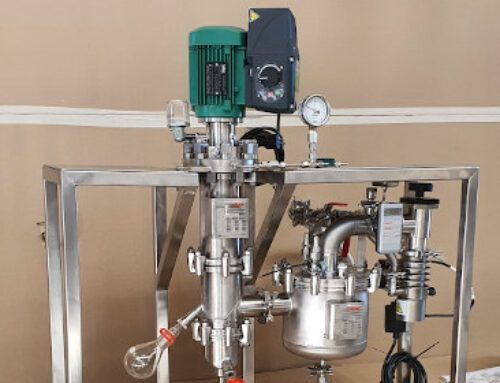 Lab Short Path distillation plant